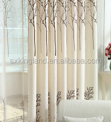 High quality 100% polyester curtain Plain blackout fabric roll sheer