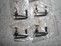 52 PCs Black Gold Color Violin Fine tuners full size