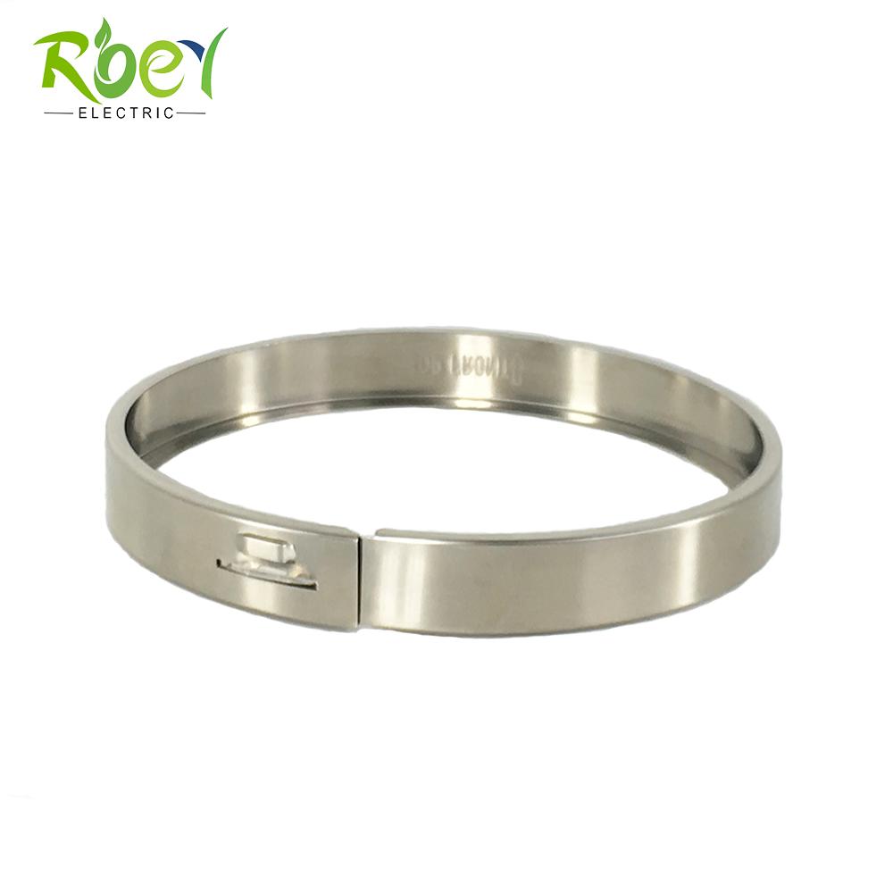 RE-01 Meter Socket Parts Stainless Steel Meter Locking Rings/Meter Sealing Ring