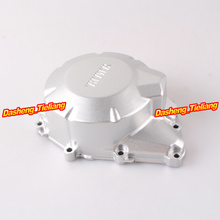 Stator Engine Crank Case Generator Cover Crankcase For Yamaha FZ6 2004 2005 2006 2007 2008 2009 2010 Silver
