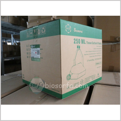 laboratory plastic tissue culture treated plug seal vent cell culture flask