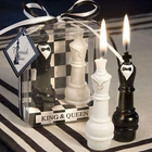 Bride and Groom Design Chess Candle Wedding Souvenirs