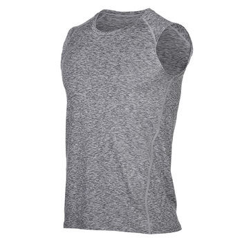 Camiseta Soccer Sin Mangas Ropa Deportiva Sleeveless Dry Fit Cationic Polyester T Shirt
