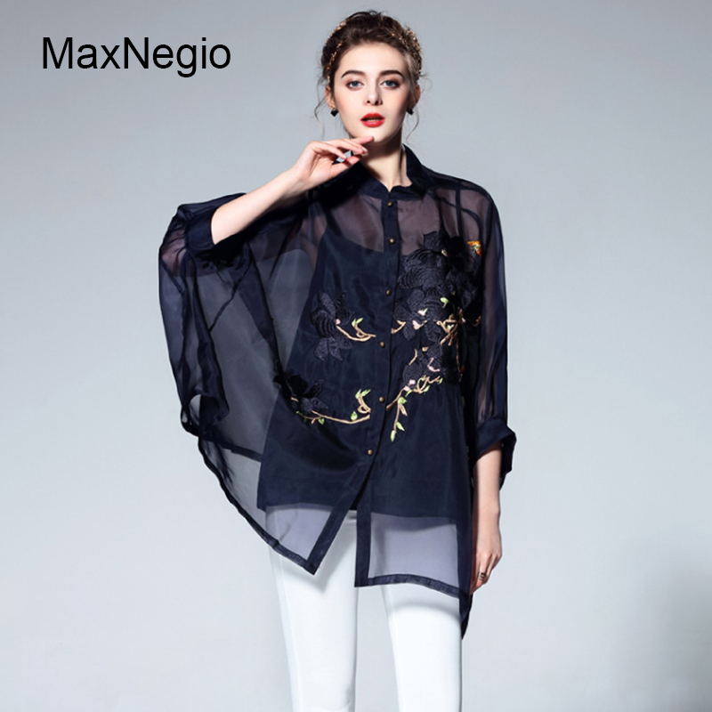 Women Fashion Shirts Embroidery Designs