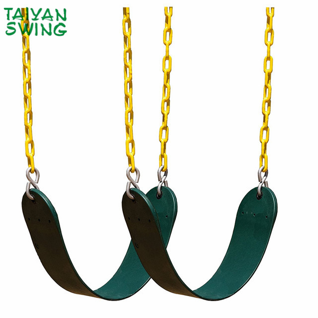 Garden Eva Wraparound Belt Swing Seat With Chains Buy Outdoor Belt Swing Seat For Kids Belt Swing Set With Plastic Coated Chain For Adults Heavy Duty Belt Swing Seat For Children Product On Alibaba Com