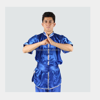 Oem Chinese Kung Fu Tai Chi Uniform Martial Arts Clothes Comfortable Wushu Suit Morning Exercise Wear