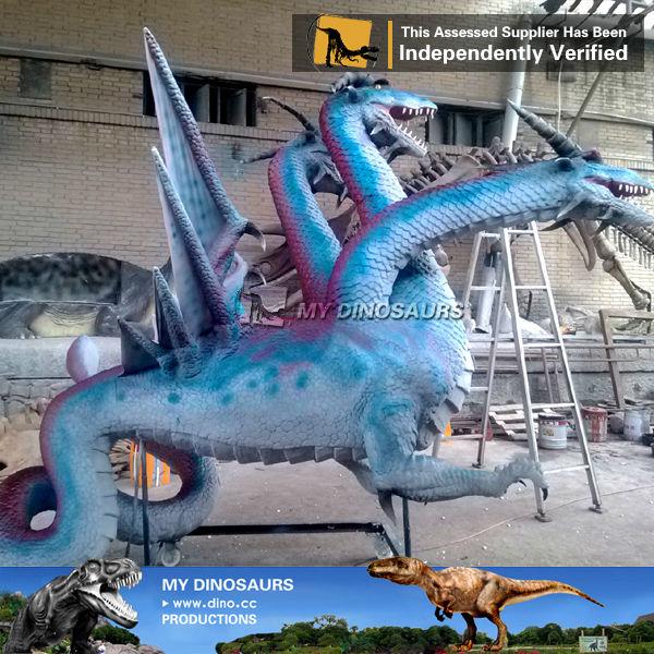 Il Mio Dino Zoo Decorazione Mostra Per Il Partito A Tre Teste Di Drago Per Iaapa Buy Zoo Mostra Zoo Mostra Zoo Mostra Product On Alibaba Com