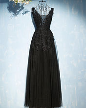 Vestidos De Gala 2020 стильное ТРАПЕЦИЕВИДНОЕ ПЛАТЬЕ цвета шампанского для выпускного вечера, длинное Недорогое Платье с v-образным вырезом на спине ...(Китай)