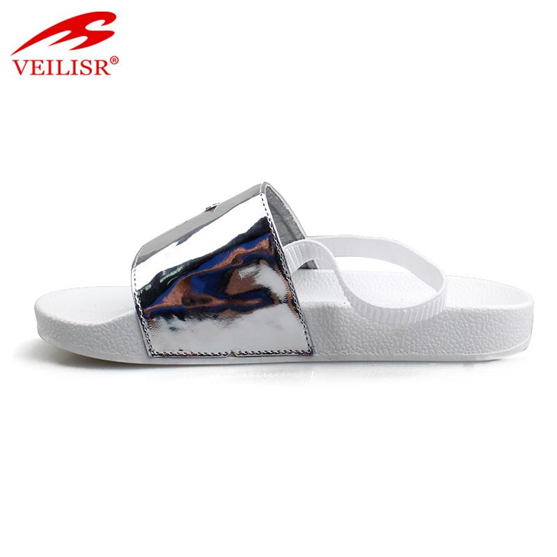 Оптовая продажа, детские сандалии-слайдеры из полиуретана с высокой подошвой из ПВХ, детские Тапочки
