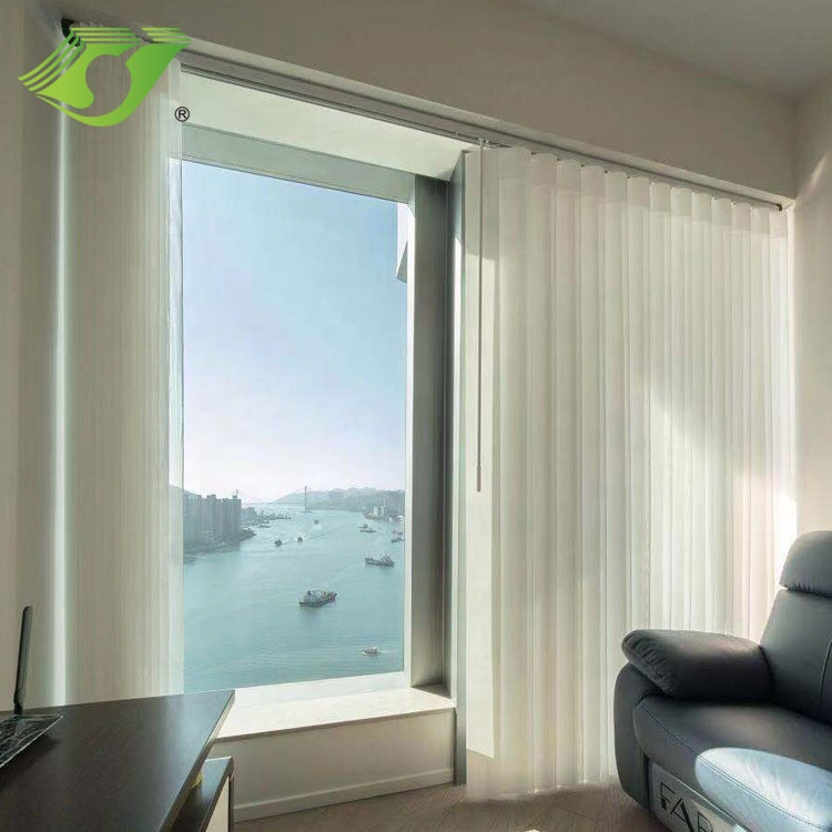 Polyester Fabric Vertical Shade Blinds