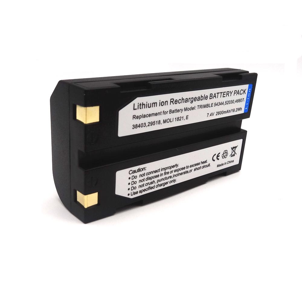 GPS приемник батарея 54344 52030 46608 38403 29518 Замена батареи D-LI1 для Trimble R8 R9