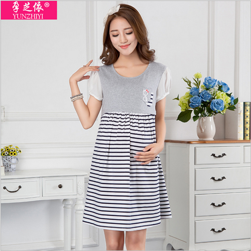 High fashion maternity clothes