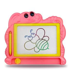 Kids early educational magnetic cartoon Educational Kids plastic magic writing toy erasable magnetic drawing board for child