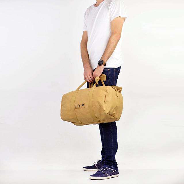 Большое отделение вещевой мешок индивидуализированные моющиеся крафт-бумага спортивная сумка для отдыха на открытом воздухе для дорожная сумка-тоут сумка