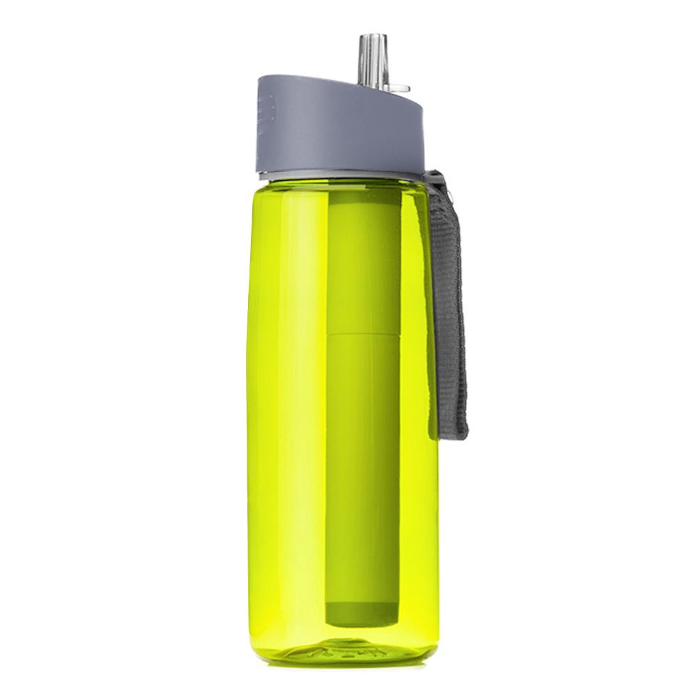 650 мл уличный фильтр для воды, бутылка для выживания, кемпинг, бутылка для фильтрации воды, очиститель для кемпинга, походов, путешествий(Китай)