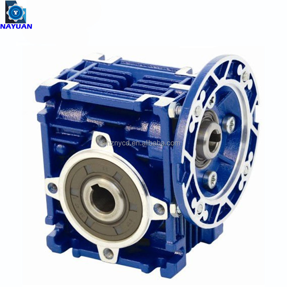 نموذج NMRV025 الحد من نسبة 20:1 الكهربائية صندوق تروس التخفيض الخاص بالمحرك