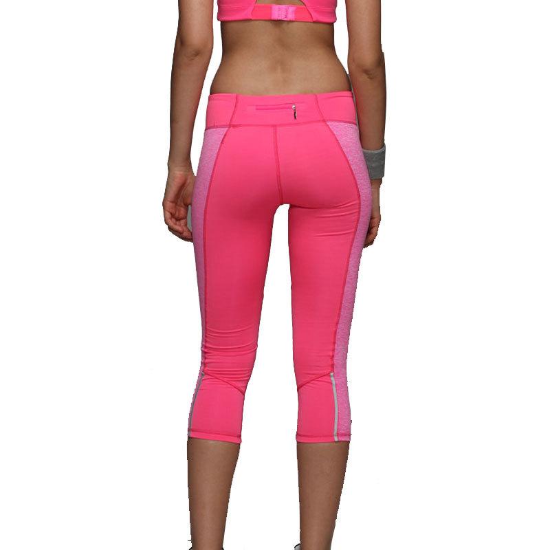 2015 Women Yoga Pants Sport Fitness Running Tights Quick