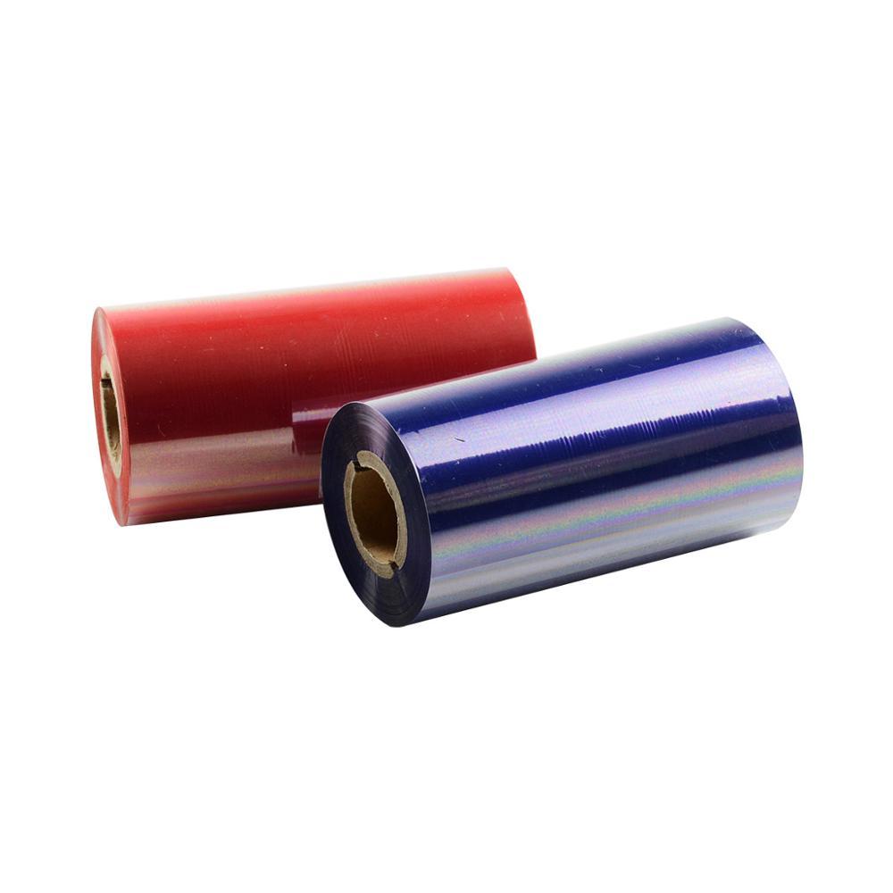 PUTY 110 мм Термотрансферная воск Смола лента используется для 4-дюймовый этикетки штрих-код, Расходники для принтера
