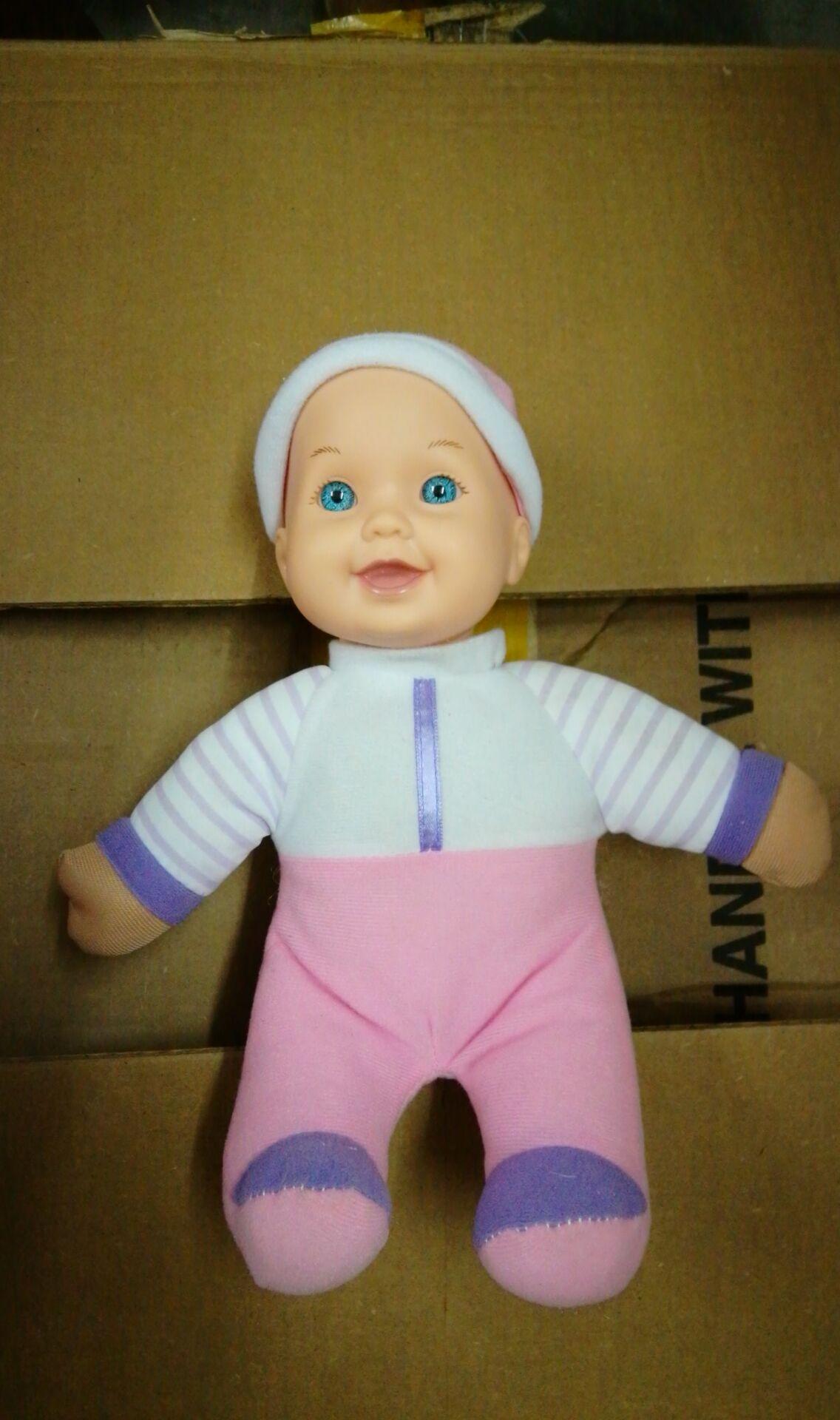 Продажи! Кукла для новорожденных, мягкие плюшевые куклы для детей, детские игрушки для девочек, удобная кукла для сна, заводская цена!(Китай)