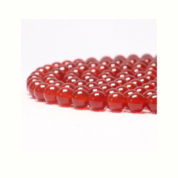 4/6/8/10/12/14/16/18mm Natural Red Agate Round Loose Gemstone Beads Black Agate Beads for Jewelry Making