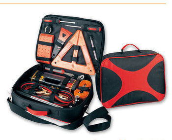 HF-NT403(03) New Portable Car Emergency Kit Outdoor Emergency tool Car Repair Safety tools kits (CE certificates)
