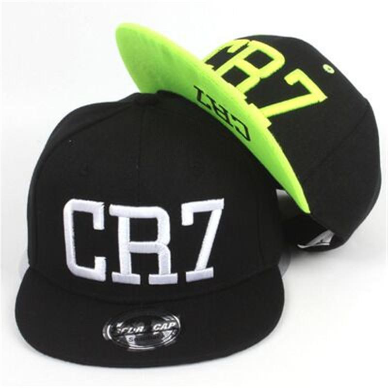 2016 new summer children Ronaldo CR7 Snapback hats kids baseball boys girls MESSI Neymar casquette Hip