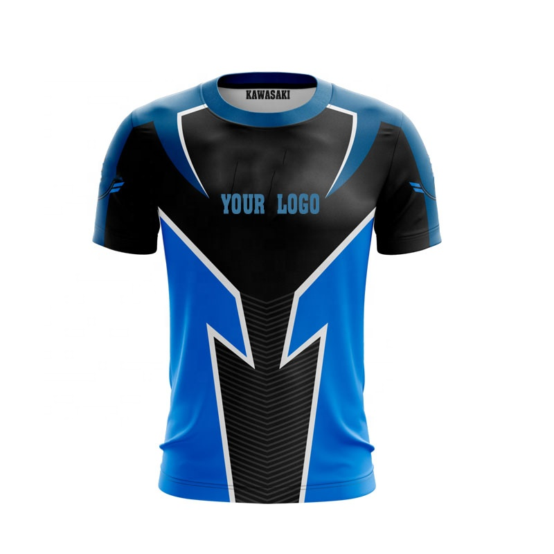 Cheap Gaming T Shirts Custom Template E-sports Jersey Sportswear Men 100% Polyester Fabric Custom Sublimation Printing 10 Pieces - Buy Custom Gaming ...