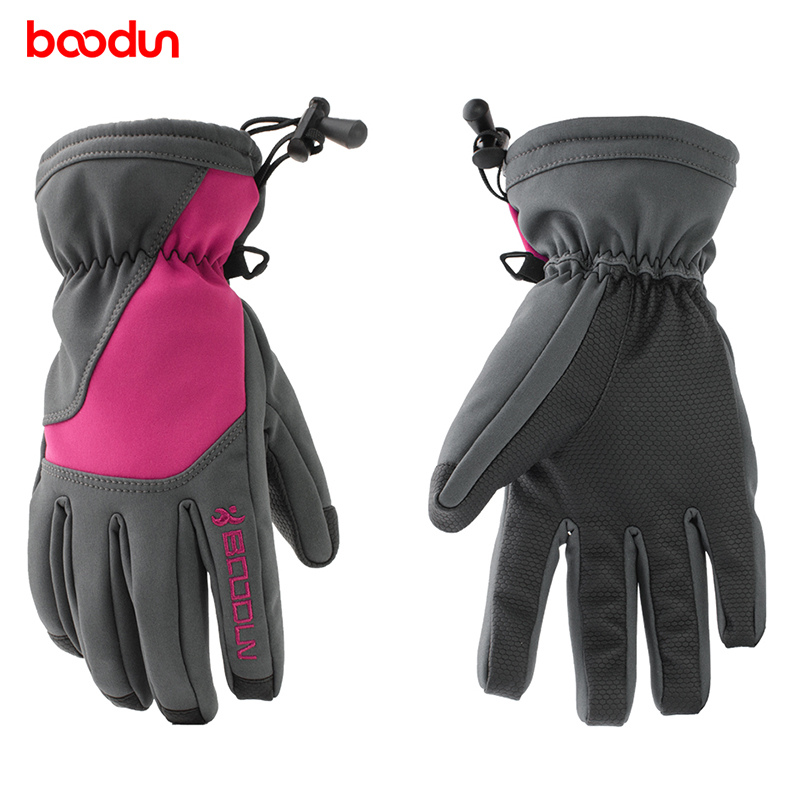 Winter Waterproof Ski Gloves Skid Warm Outdoor Sports Fleece Snow Gloves