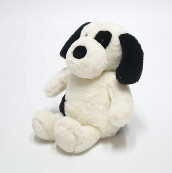 Weighted Black Puppy Sensory Soft Animal Stuffed Plush Toy