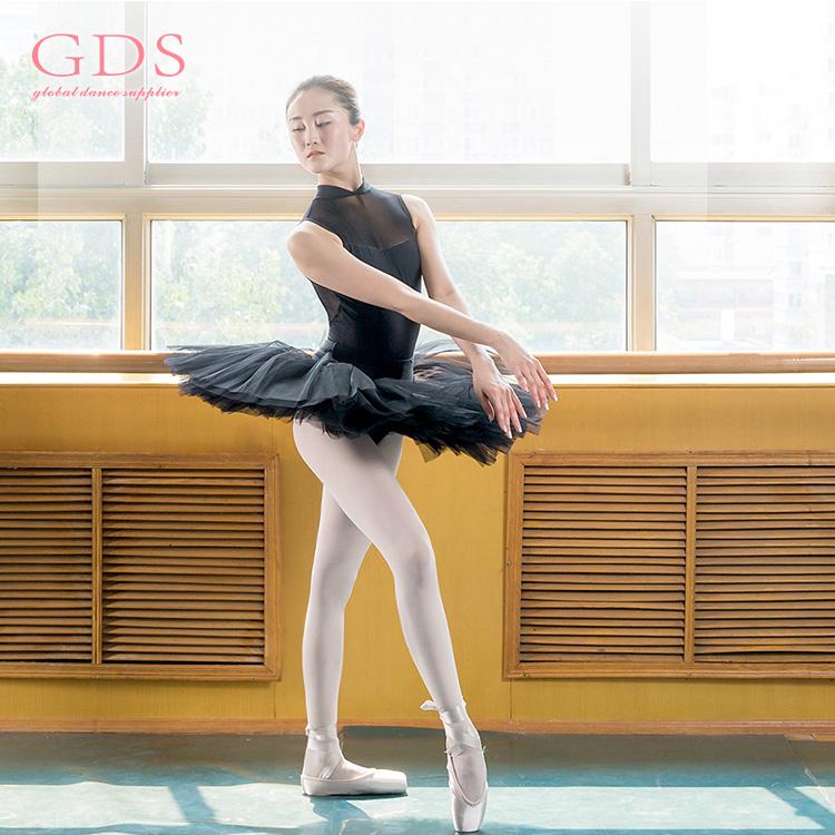 Trendy Costume Dance Wear Wholesale Adult Black Leotard Ballet