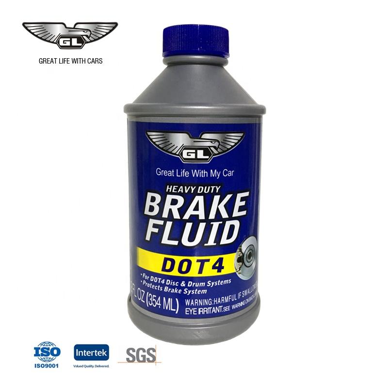 250ml Manufacturer Brake Fluid Dot4 Synthetic Brake Fluid