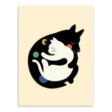 SPLSPL Kawaii животные друг Медведь собака кошка Hug поп-арт А4 постер скандинавский стиль детская комната украшение настенные картины холст живоп...(Китай)