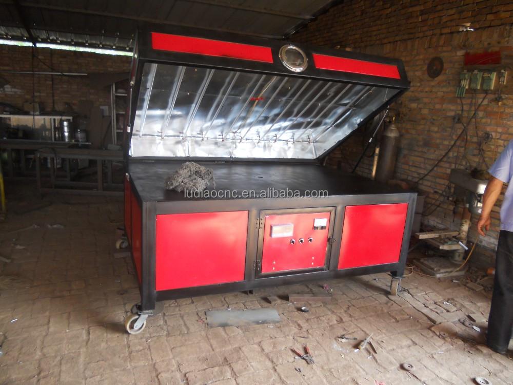 Heat Vacuum Forming Machine For Acrylic Sheet Pvc Vacuum
