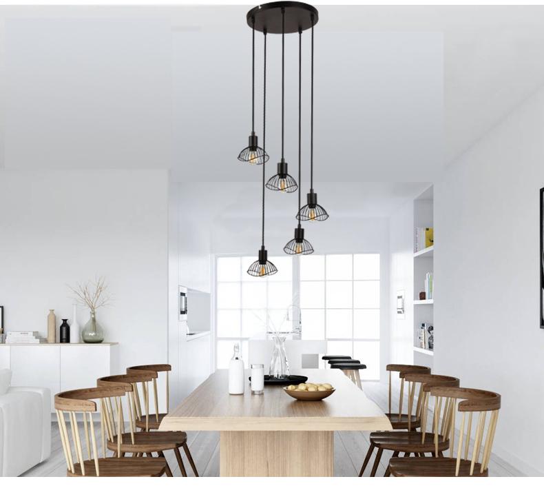 Лидер продаж, поставщик, Декоративная Потолочная люстра для дома, отеля, кофе, бара, светодиодная Подвесная лампа
