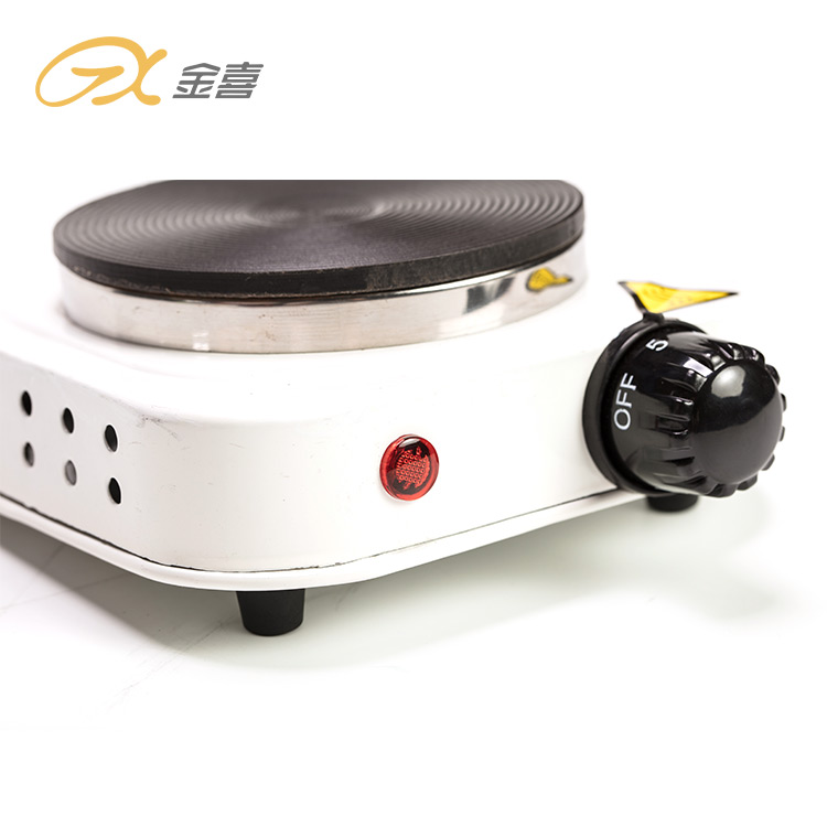 Недорогая портативная электрическая плита 500 Вт с одной горелкой по заводской цене, Горячая тарелка для домашнего приготовления пищи