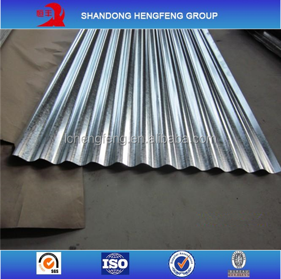 2015 New Design Galvanized Corrugated Metal Roofing Sheet