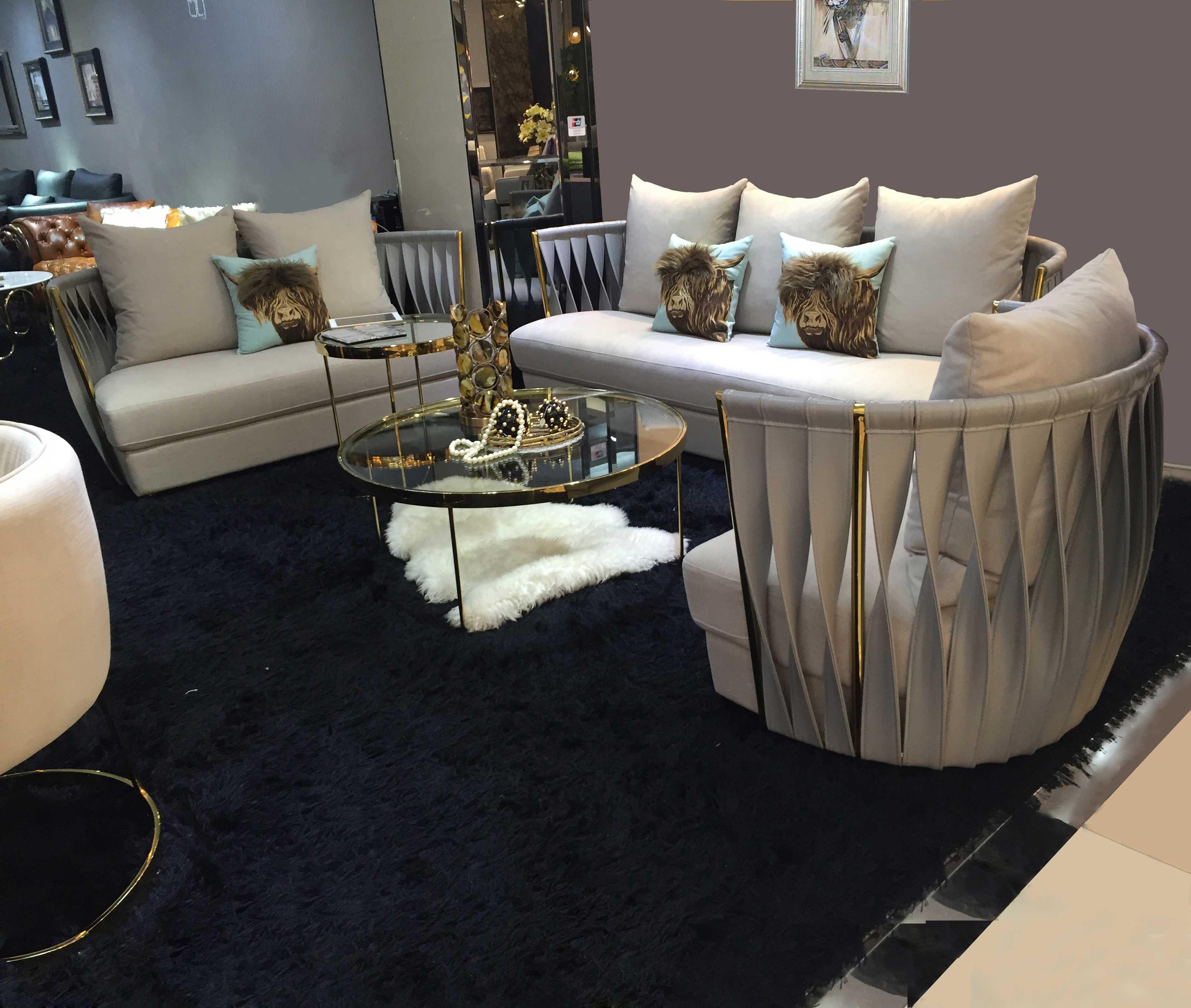 20 Latest Modern Design Fabric Sofa For Living Room Furniture ...