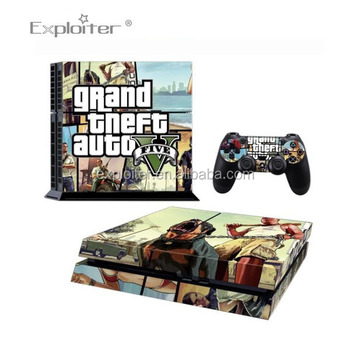 Chinese famous brand decal sticker for play station 4 skin