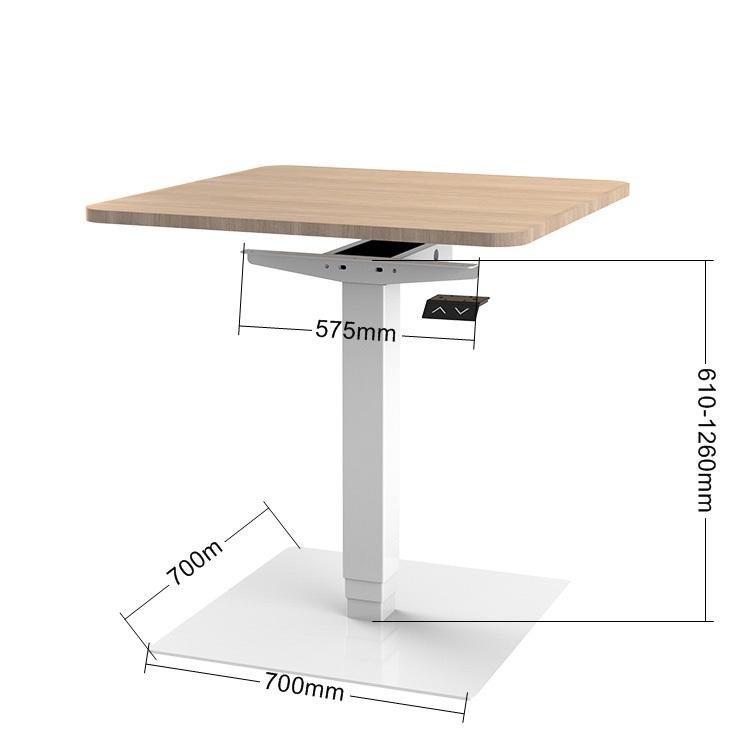 Электрическая эргономичная мебель, современный журнальный столик с подъемными ножками