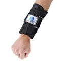1 Pair 5kg Weight bearing Adjustable Tying Hand Wrap Wrist Black for Weight Exercise Fitness Boxing