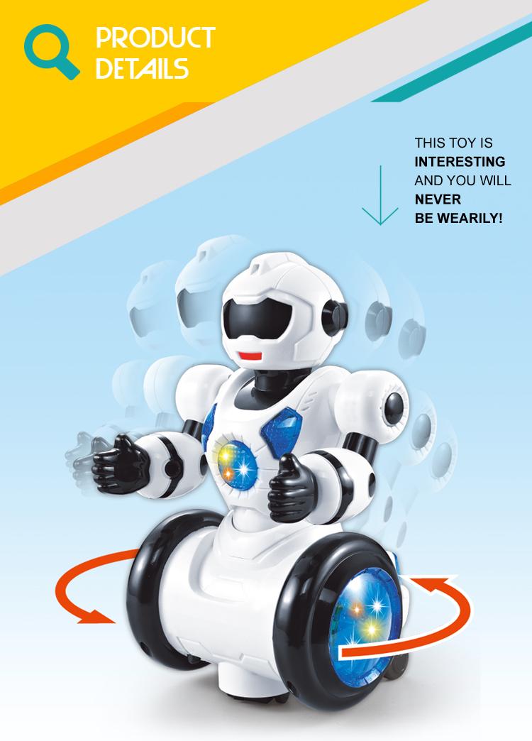Вращающиеся вращающиеся танцевальные колесики, интеллектуальная музыкальная Мобильная игрушка-робот для детей
