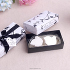 2017 new bridal shower favor return gift guest souvenirs bomboniere wedding favor door gift love doves scented bar bath soap