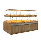 Showroom Display Display Cabinet Display Latest Showroom Bakery Cake Bread Display Cabinet Furniture For Sale