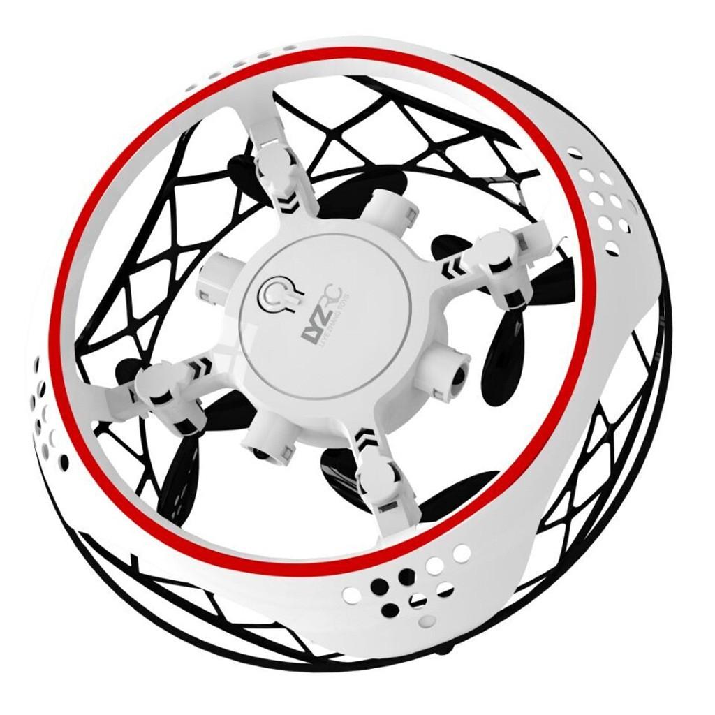 L101 мини-Дрон Летающий НЛО внутренний индукционный Карманный Дрон с дистанционным управлением Вертолет Дрон Игрушки для мальчиков Радиоупр...(Китай)