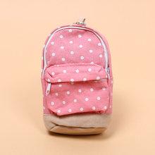 1 шт. чехол-карандаш с узором в горошек, Большая вместительная сумка-карандаш, милая простая коробка-карандаш, школьные канцелярские принадл...(Китай)