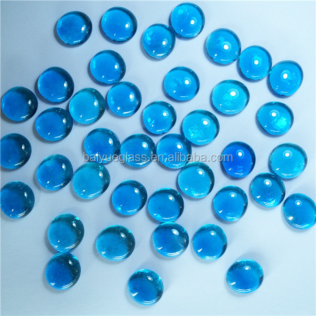 High Quality luster crystal glass for fire pit burner