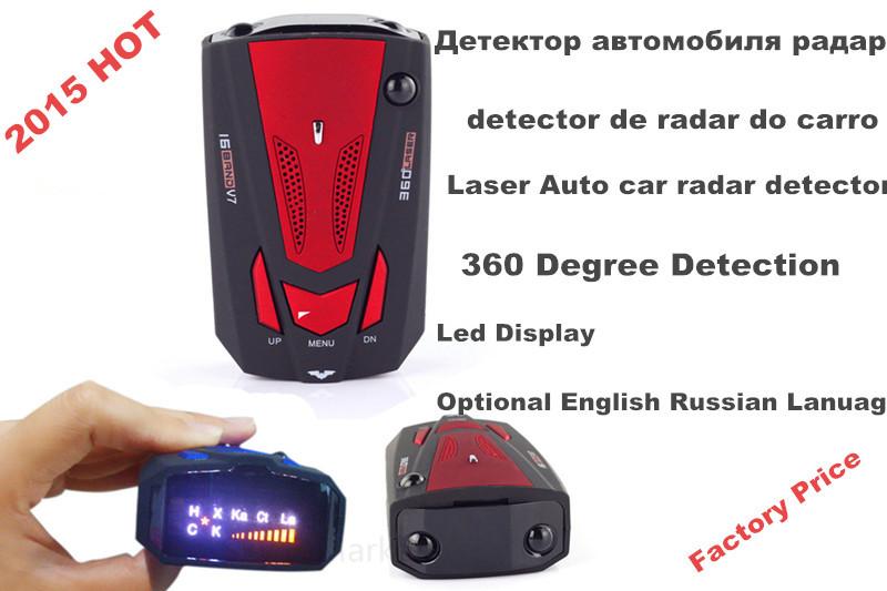 buy 2015 new v7 car radar car anti police radar detector russia english 16. Black Bedroom Furniture Sets. Home Design Ideas