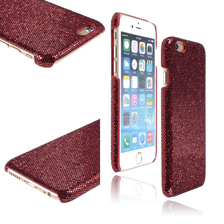 2015 New TPU Phone Case For Apple/iPhone 6 4.7 Red Color