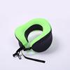 Travel neck pillow green