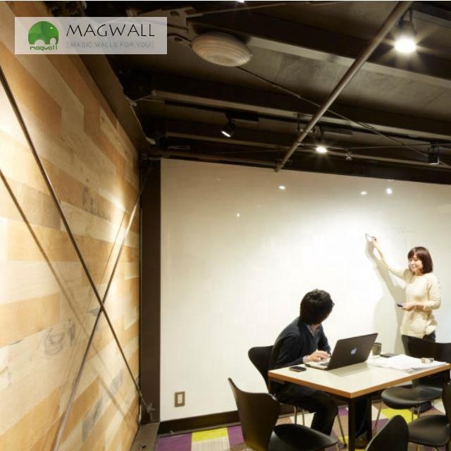 Magwall magnetic single-layer white board customize PET film writing wall sticker dry erase whiteboard adhesive school - Yola WhiteBoard | szyola.net